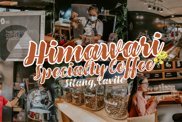 Himawari Specialty Coffee Silang Cavite Philippines